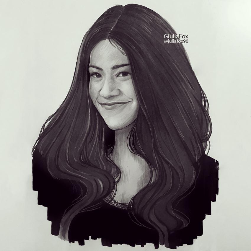 Gina Rodriguez by JuJu